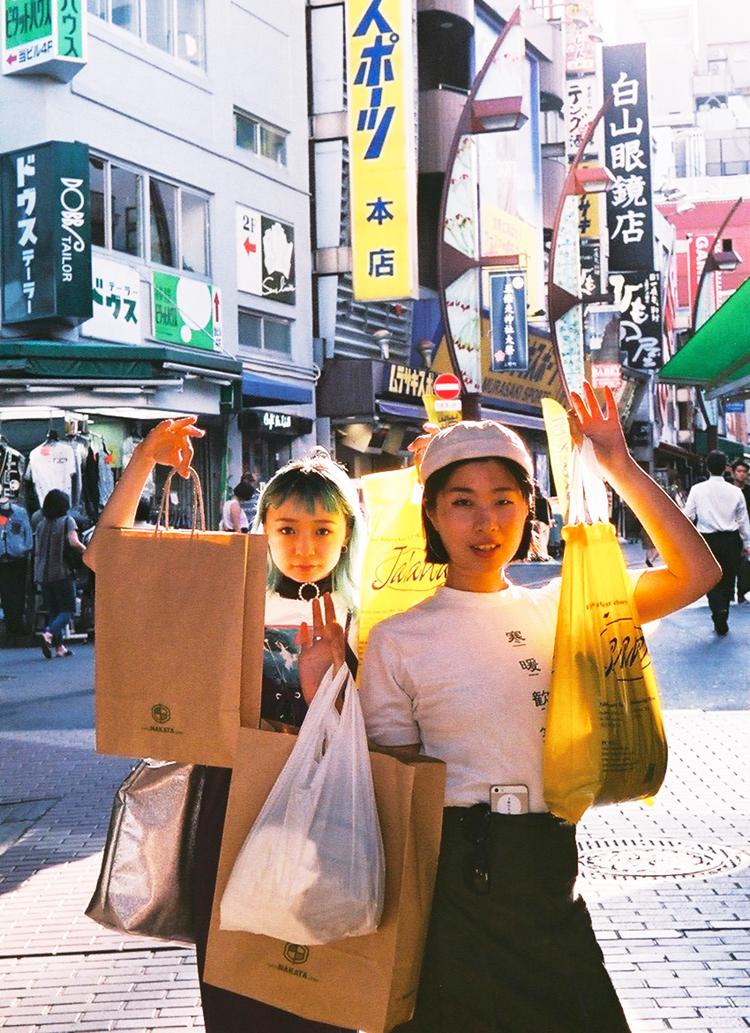 ガールな視点で選ぶ1万円アメ横ショッピング。
