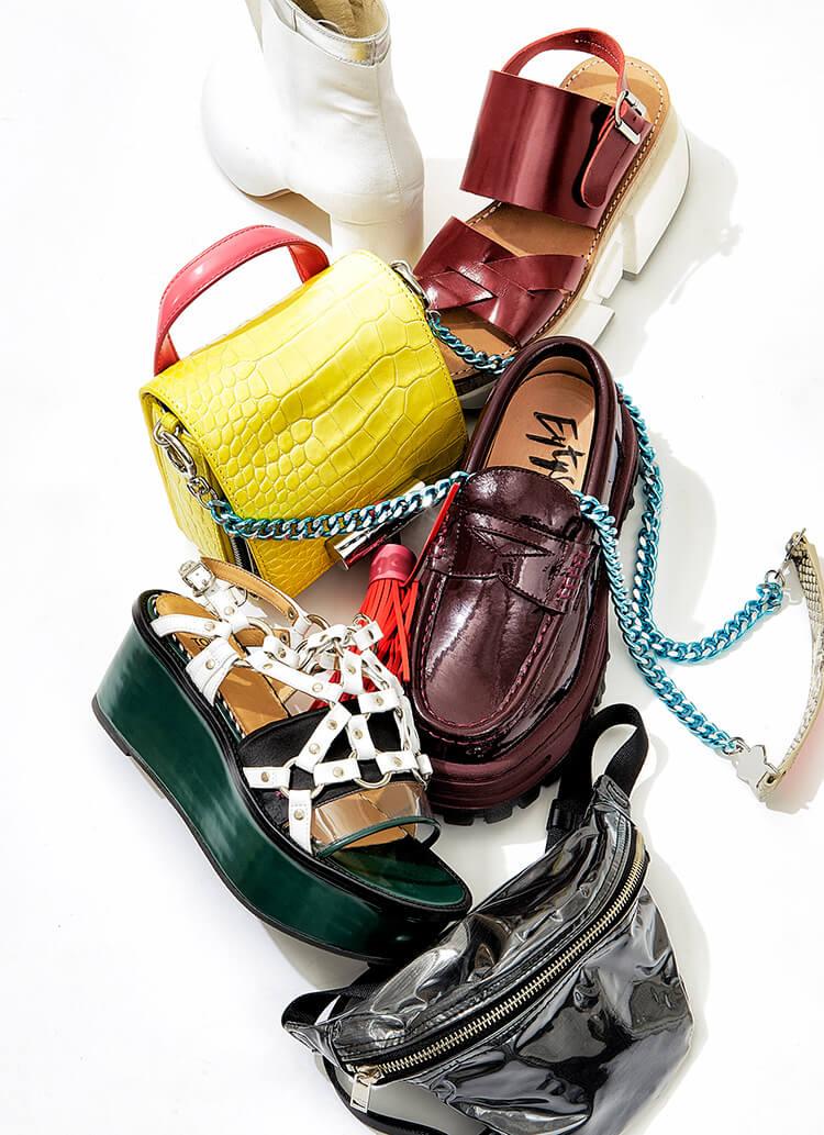 次はなにをゲットしよう? 編集部員が愛するブランドの靴とバッグ。