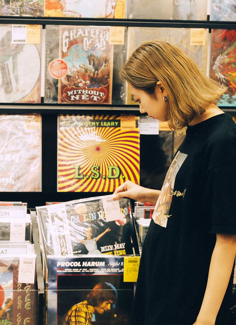レコード入門者は必読! 垣畑真由がおすすめする下北沢レコードショップ。