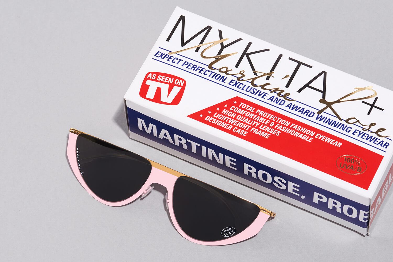 90'sレイヴカルチャーを感じさせるMYKITA + MARTINE ROSEの新作サングラス。
