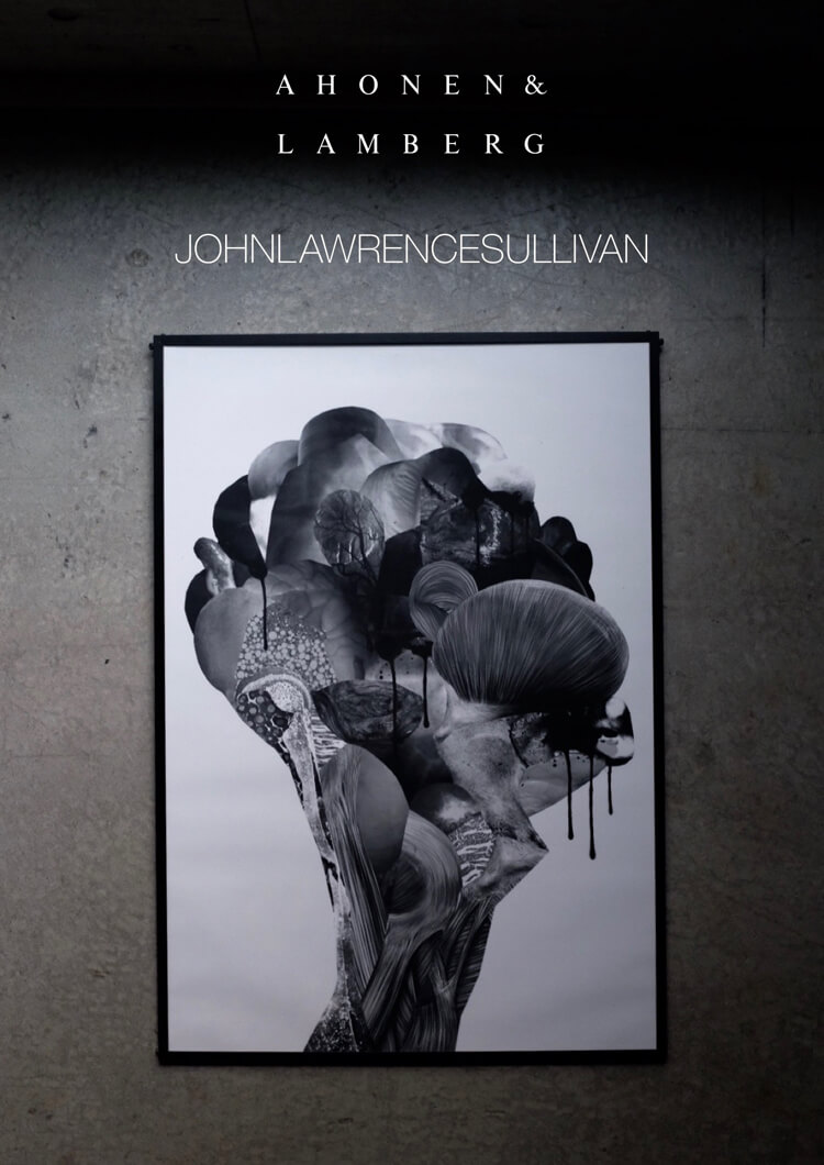 """JOHN LAWRENCE SULLIVANの直営店限定Tシャツ。胸には""""カニバリズム""""をテーマにしたキワどいプリントが…!"""