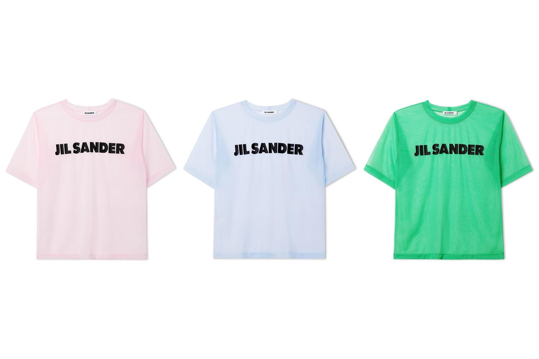 ジル・サンダーの2019年リゾートコレクションから、表参道店限定Tシャツが登場!