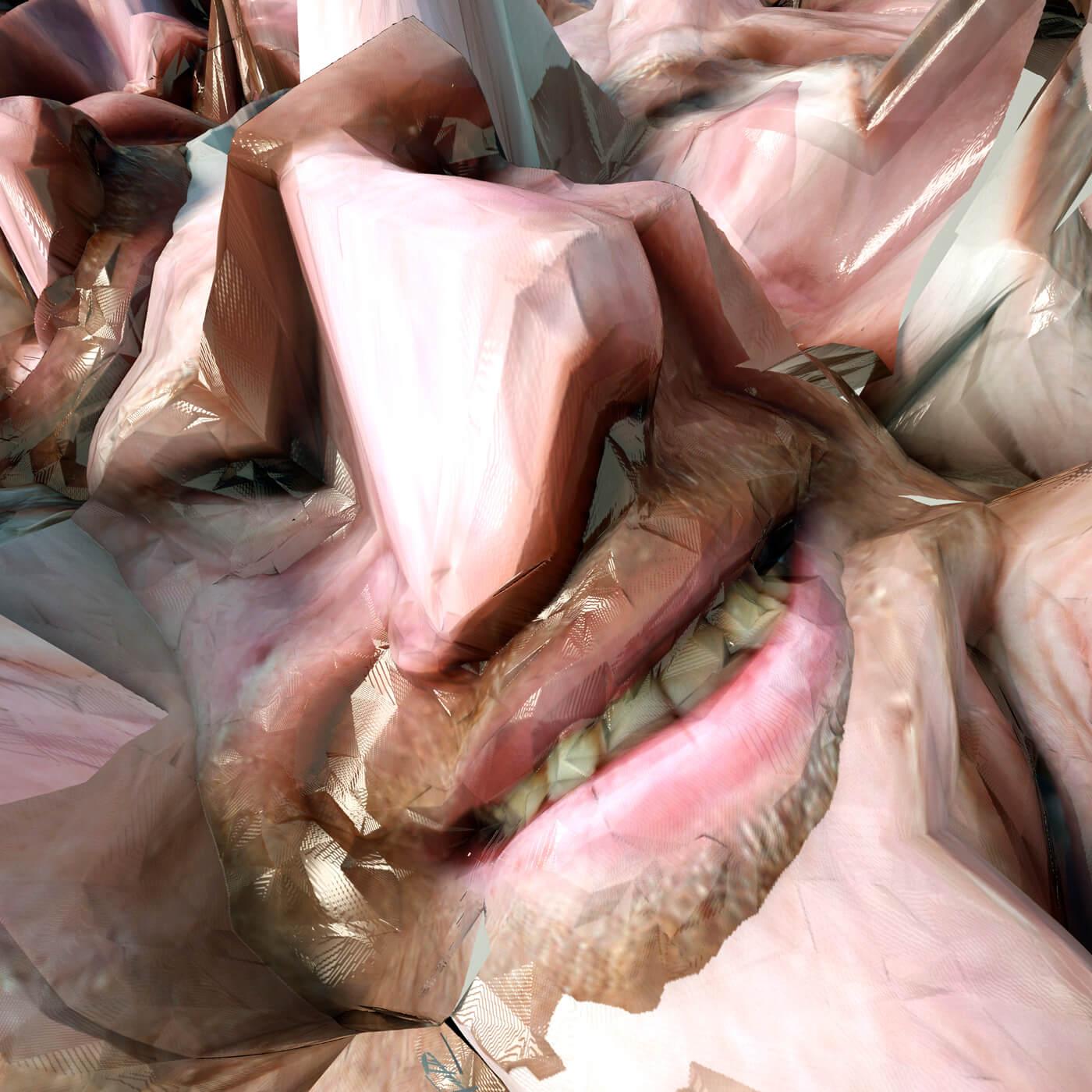 誰でもAphex Twinになれちゃう!? 特殊カメラでゴツゴツなセルフィが撮れます。