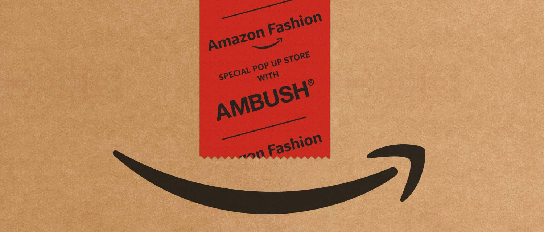 異色のタッグが提供する未知のショッピング体験。AMBUSH®とAmazon Fashionが手を組むと…?