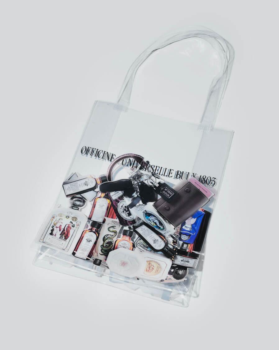 どんな中身でもおしゃれにみせてくれる、OFFICINE UNIVERSELLE BULYのPVCバッグが限定発売。