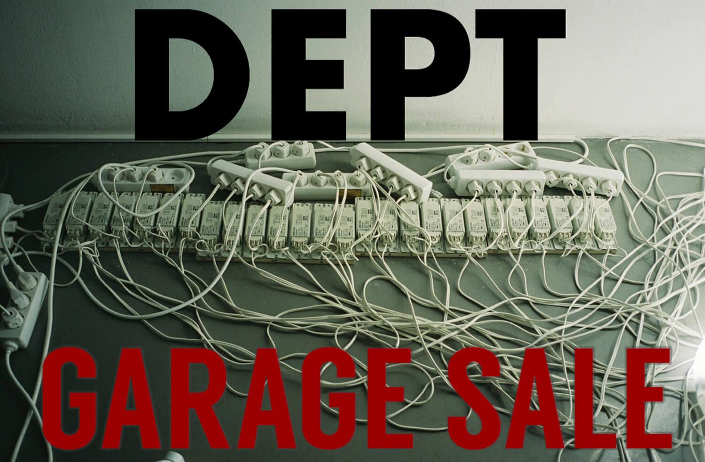 こだわりのヴィンテージから過去のアーカイブまで。DEPTが初のガレージセールを開催します。