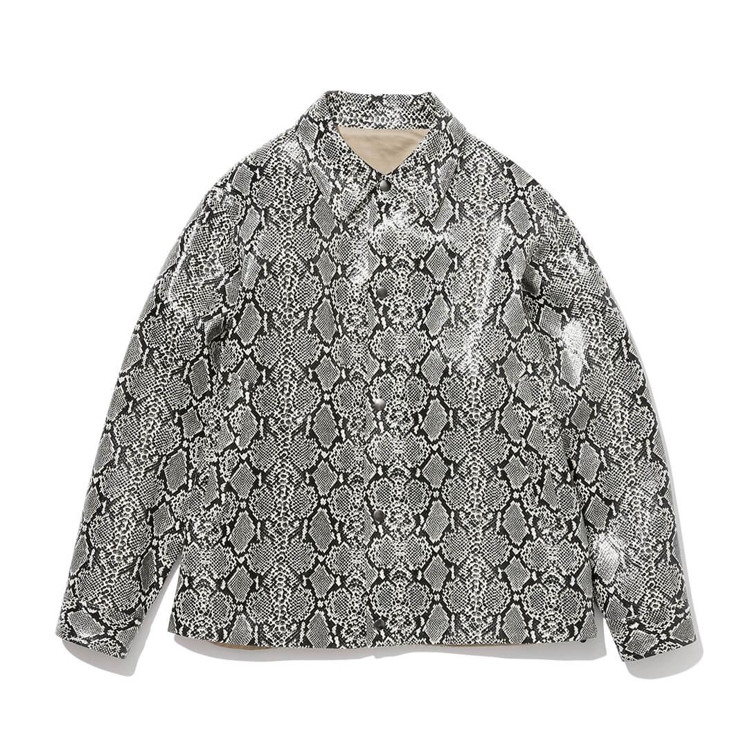エフィレボルのパイソンジャケット