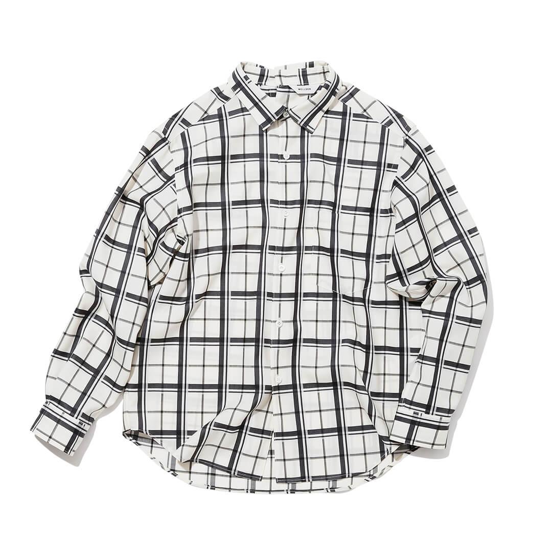 ウェルダーのウールチェックシャツ