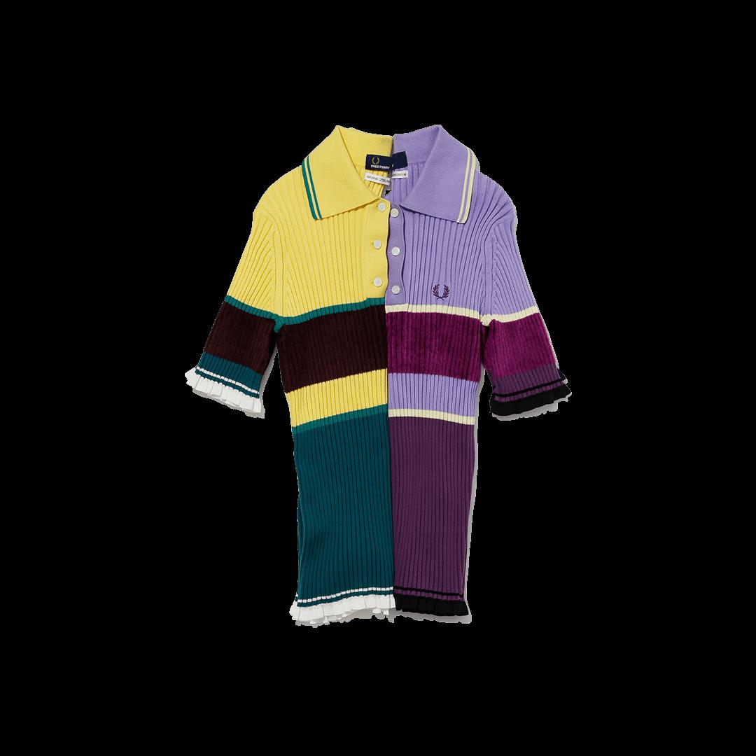 フレッドペリー × アカネ ウツノミヤのポロシャツ
