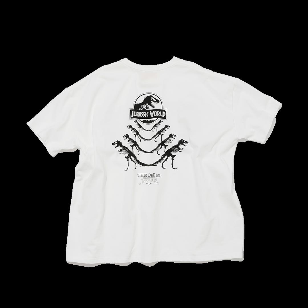 ダラスのジュラシックワールドTシャツ