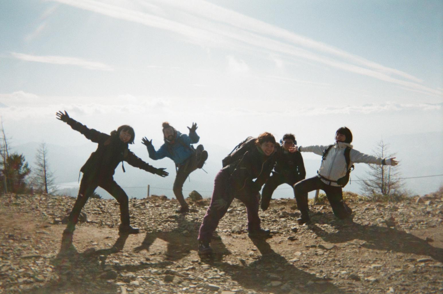 小松菜奈と山登り:B面。