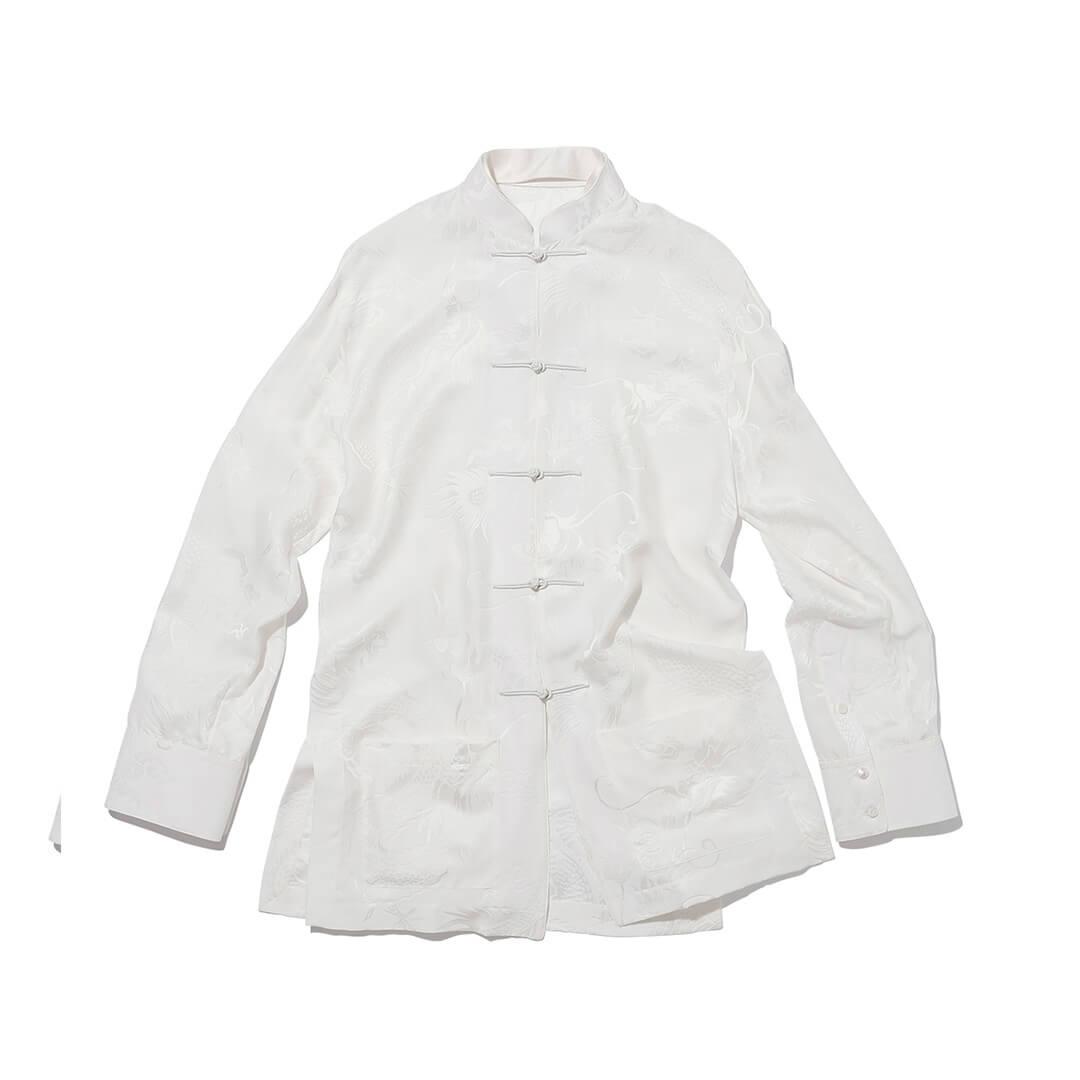 アレキサンダーワンのチャイナシャツ