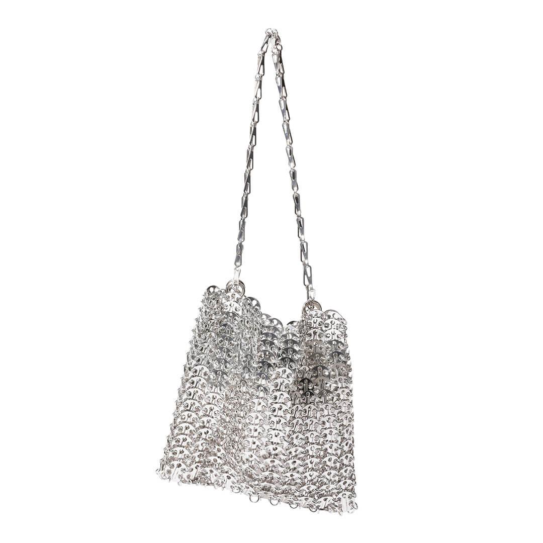 パコ ラバンヌのメタルバッグ