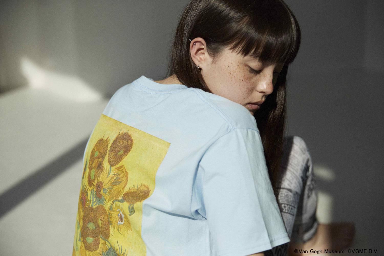 """""""ひまわり""""を着る。JOURNAL STANDARDからアートなTシャツが今年も登場します!"""