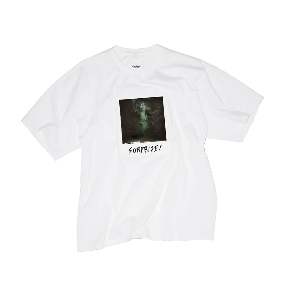 ダブレットのポラロイドフィルムTシャツ