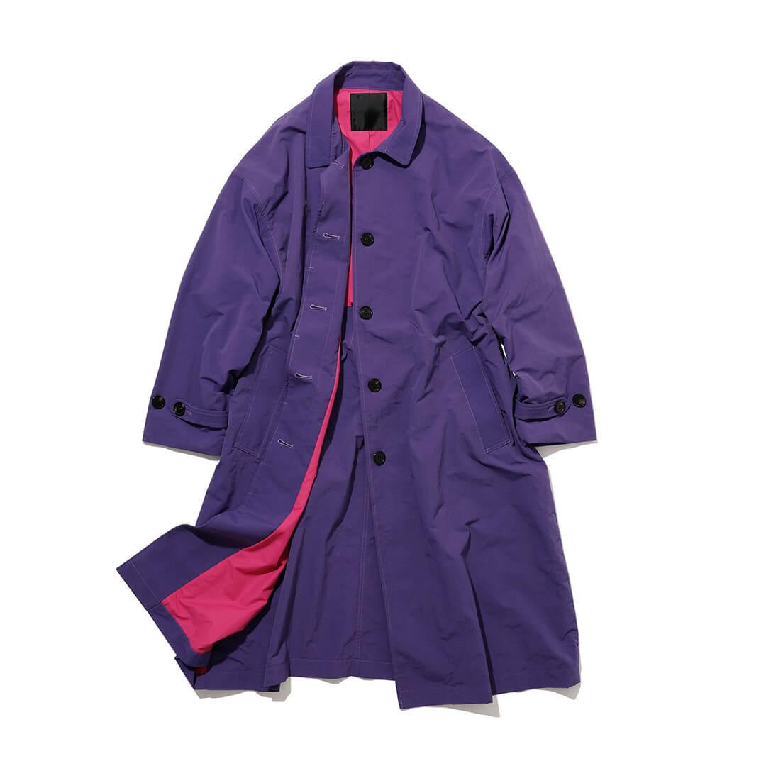 アンユーズドのステンカラーコート