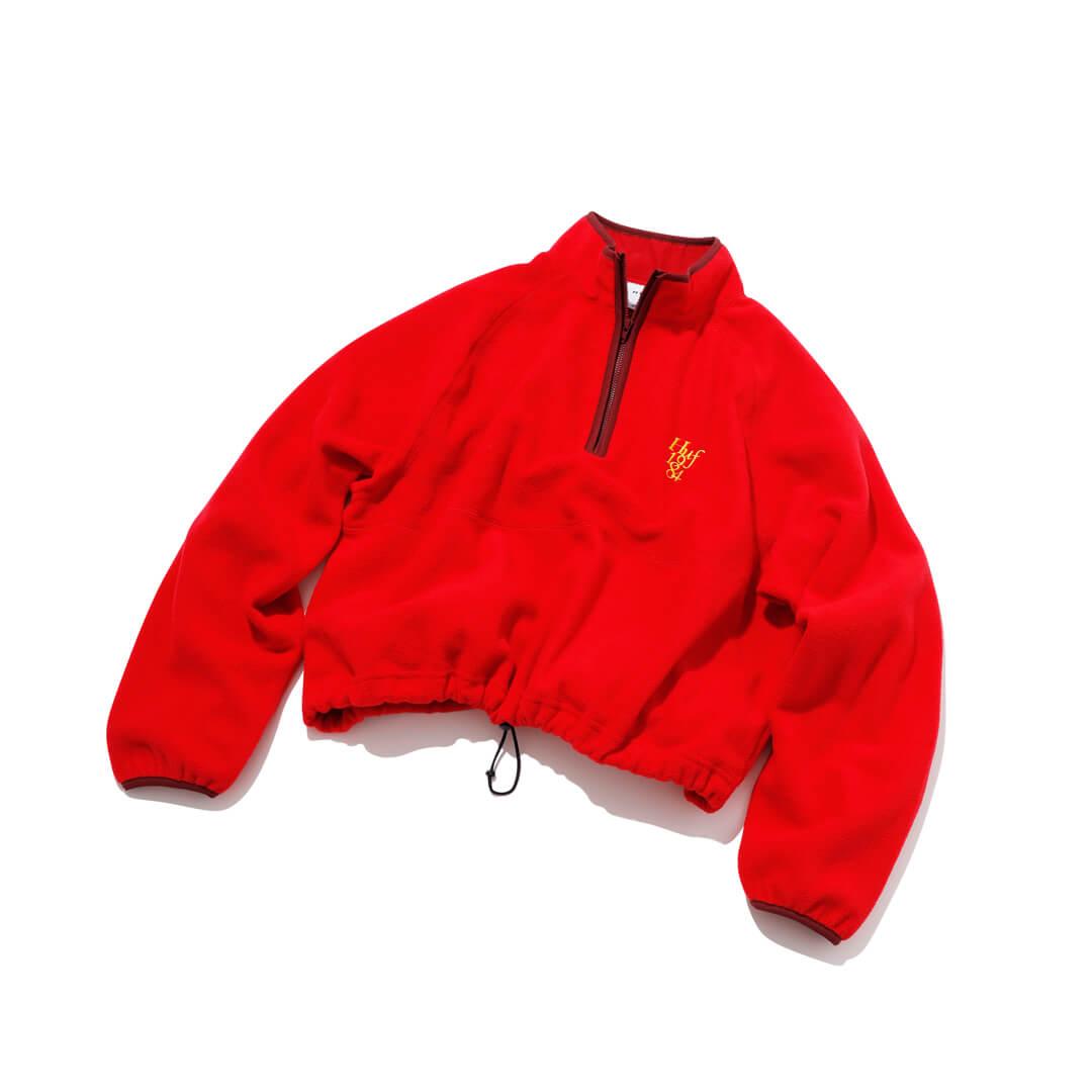 ハフのフリースジャケット