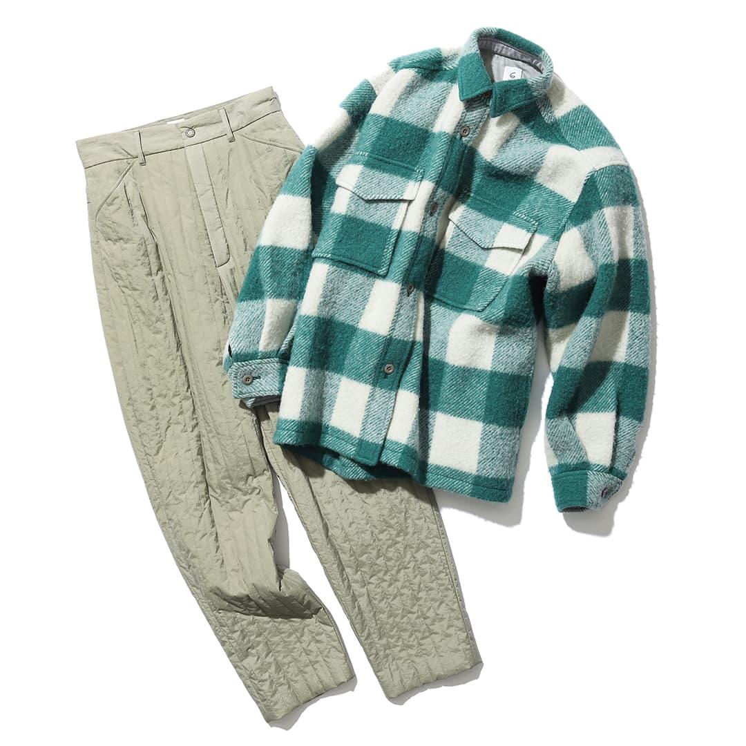 ロクのCPOシャツ&パンツ
