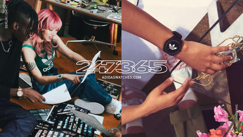 クリエイティブなときを刻む時計。アディダスオリジナルスウォッチから新モデル登場!