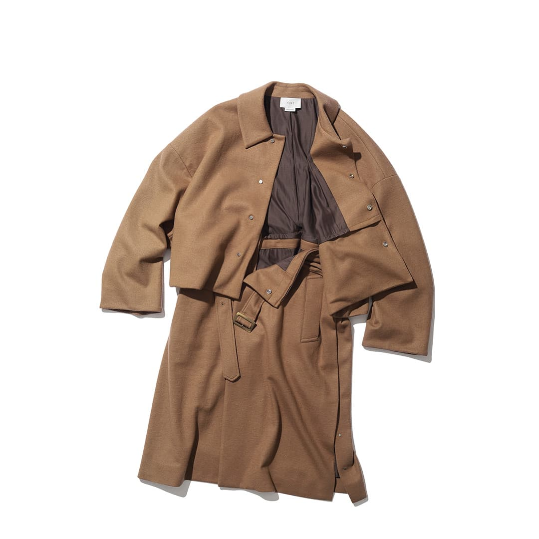 ヨークのコート