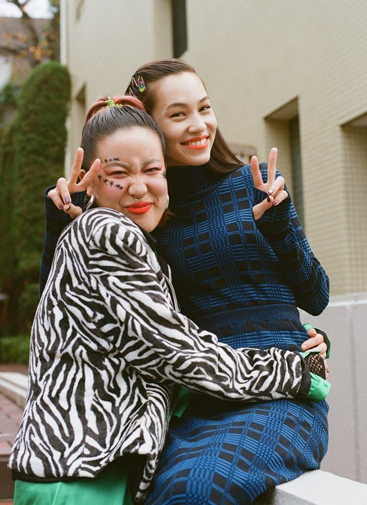 自分を愛してファビュラスな一年を! 希子ちゃんとレーナちゃんのクィア・アイ対談。