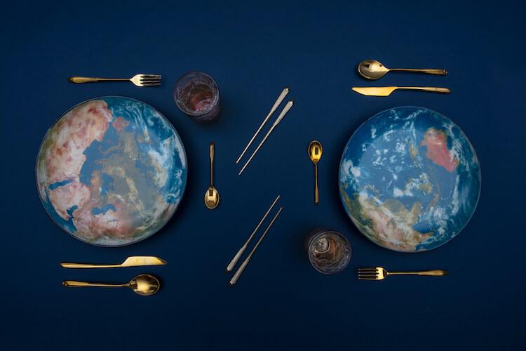 部屋が宇宙空間に! DIESELとSELETTIのコラボシリーズ新作が存在感抜群です。