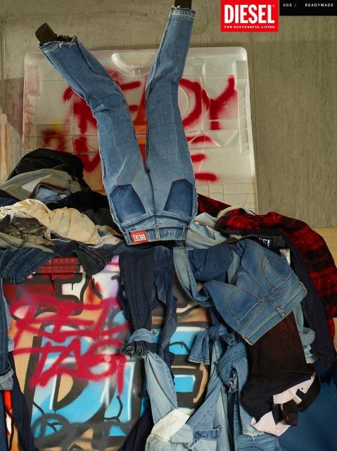 READYMADEとDIESEL RED TAGがコラボレーション! ファッションで体現するサステナビリティ。