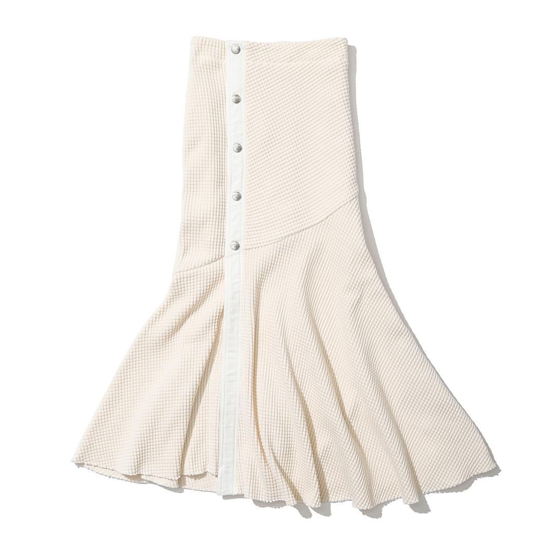 ジェイシーエムのワッフルスカート