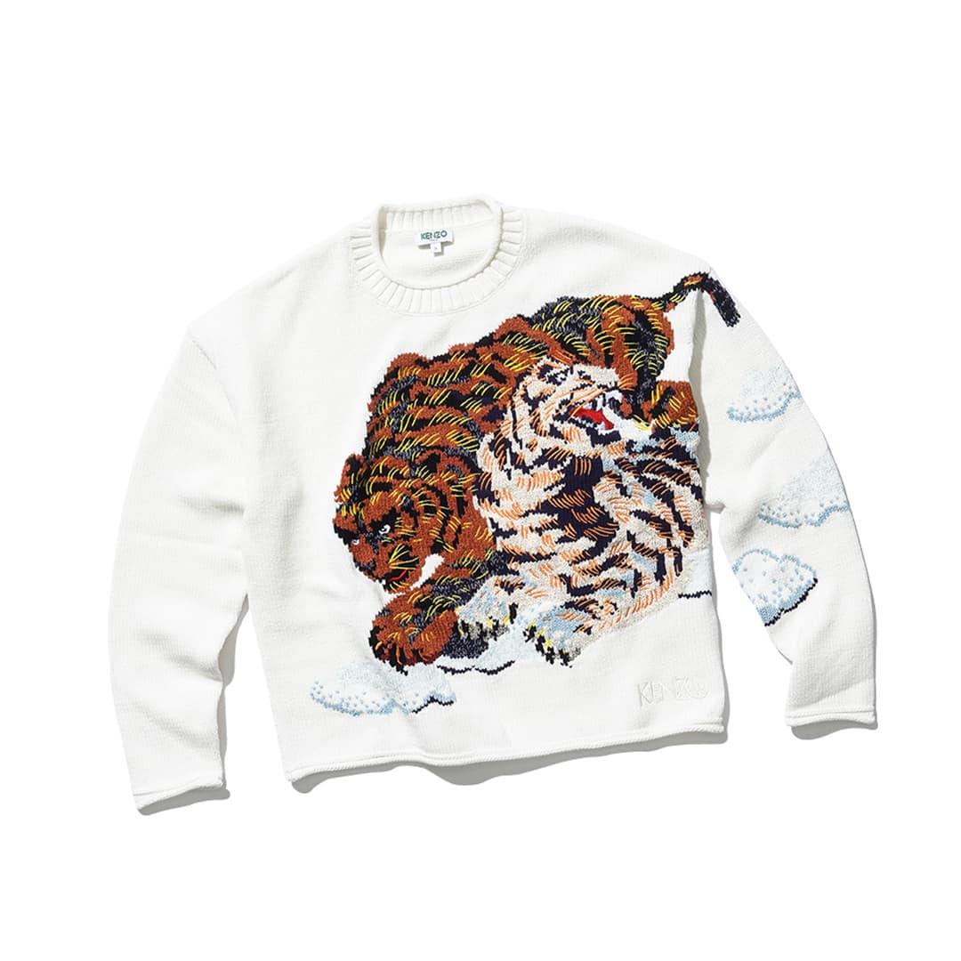 ケンゾーのセーター