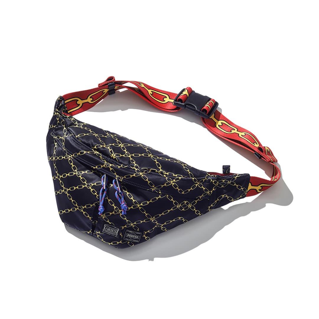 アリーズ × ポーターのウエストバッグ