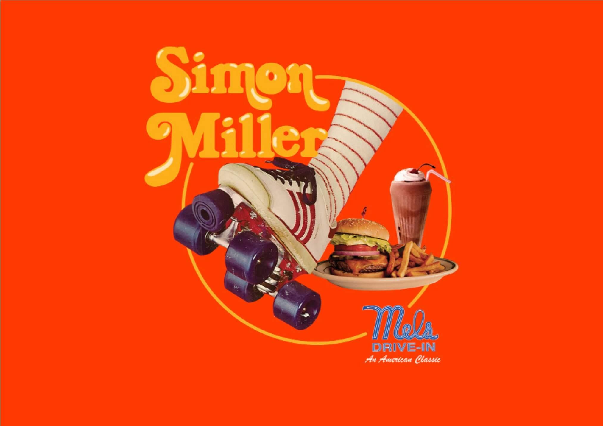 古き良きハリウッド映画の世界。 サイモン ミラーの最新ルックはあの「メルズダイナー」で!