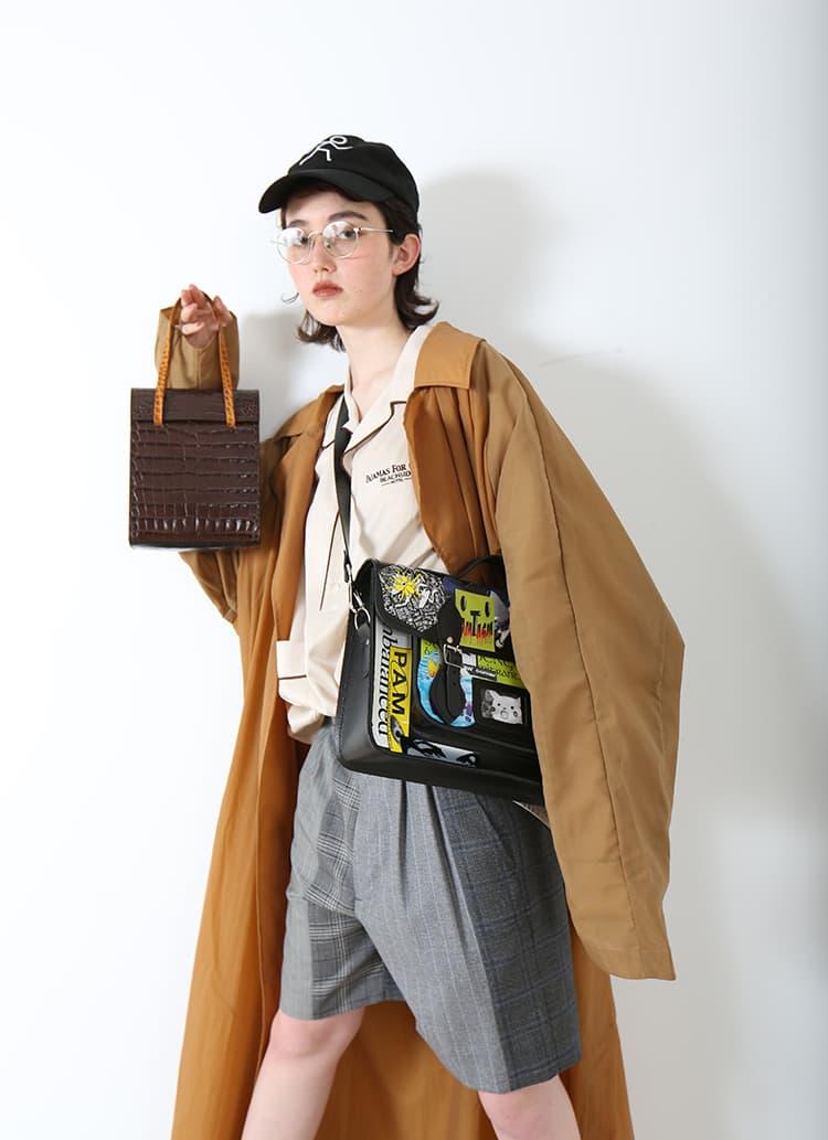 春の幕開け、このバッグと新しい自分探し。