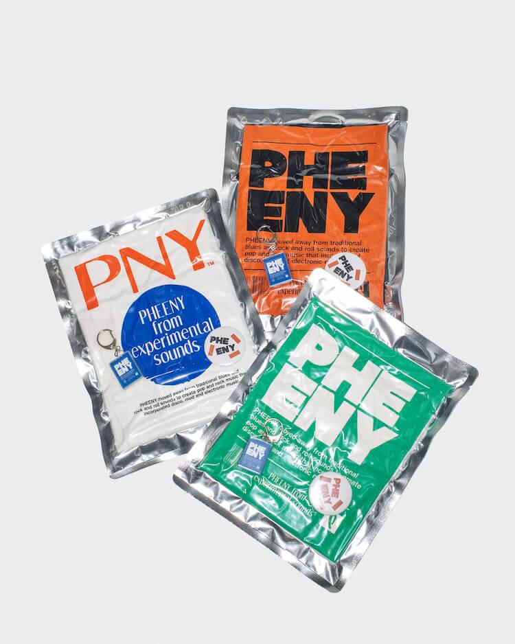 架空のバンドツアーをイメージしたPHEENYのパックTシャツ、今年も発売されます!