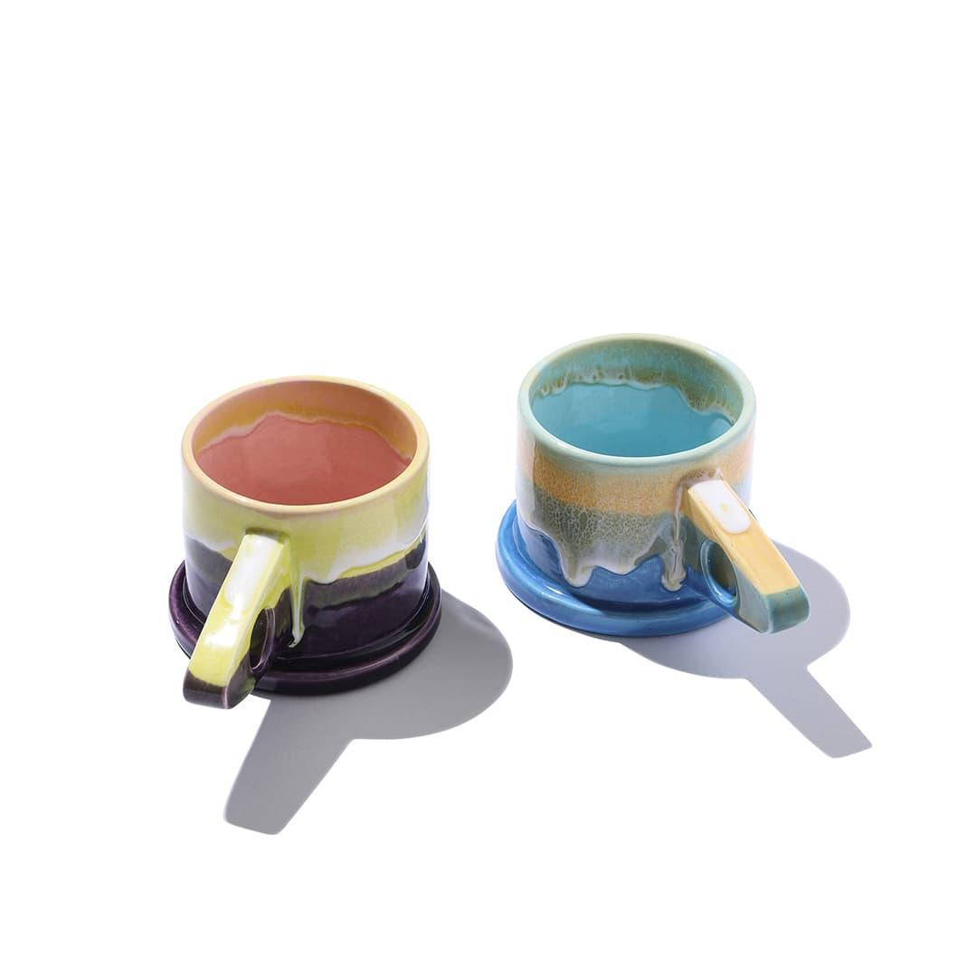 エコパークポッテリーのマグカップ