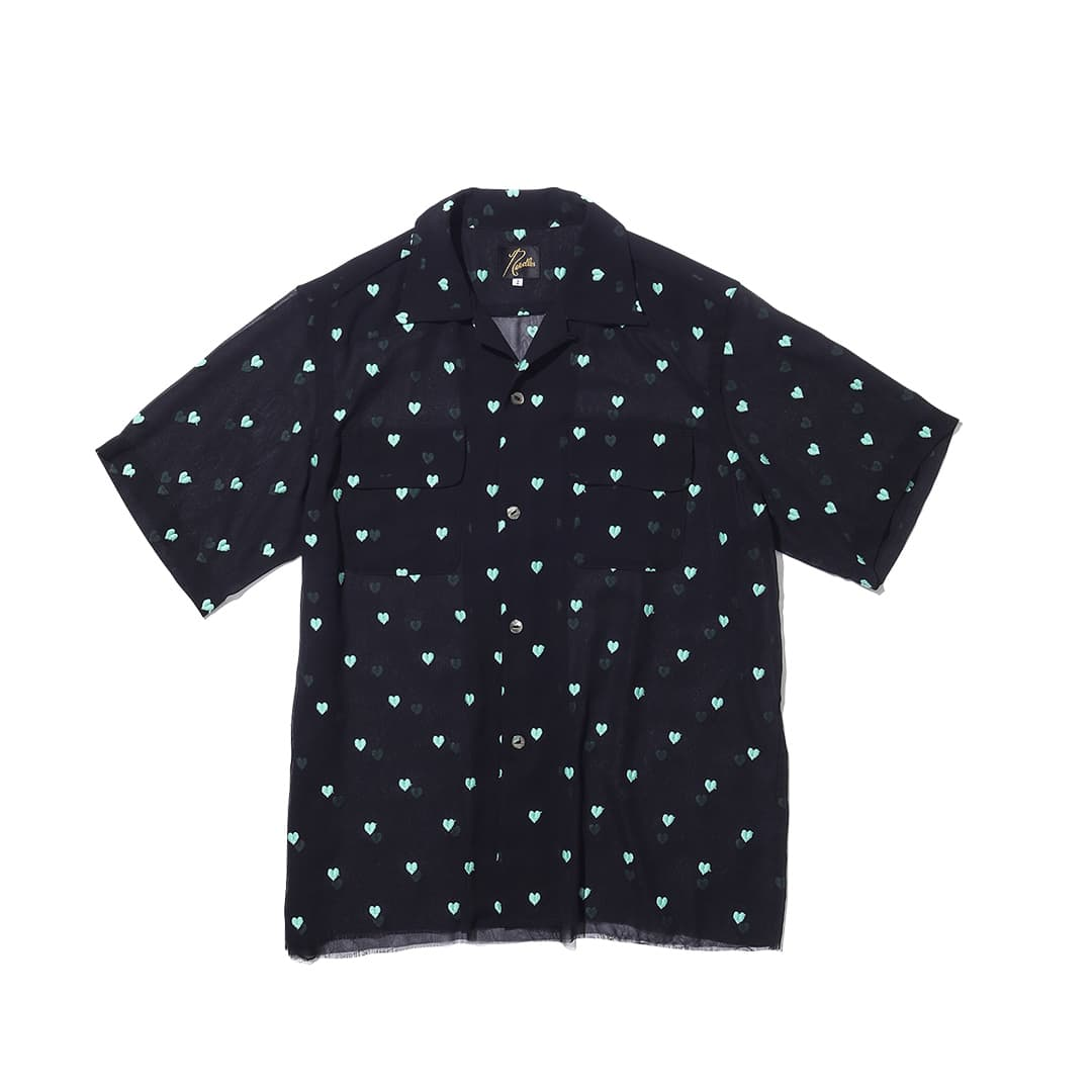 ニードルズ × ビームスボーイのショートスリーブシャツ