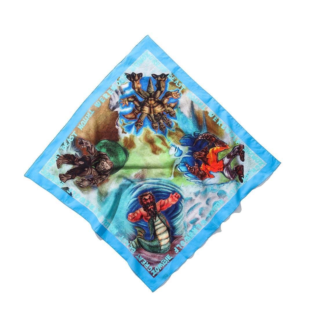 アクネ ストゥディオズ × モンスター・イン・マイ・ポケットのスカーフ