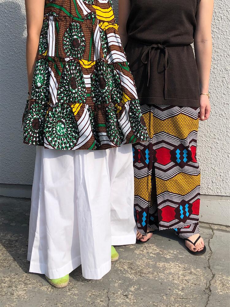 シップスとクラウディがコラボ。アフリカンファブリックを着て地球の未来を考える。