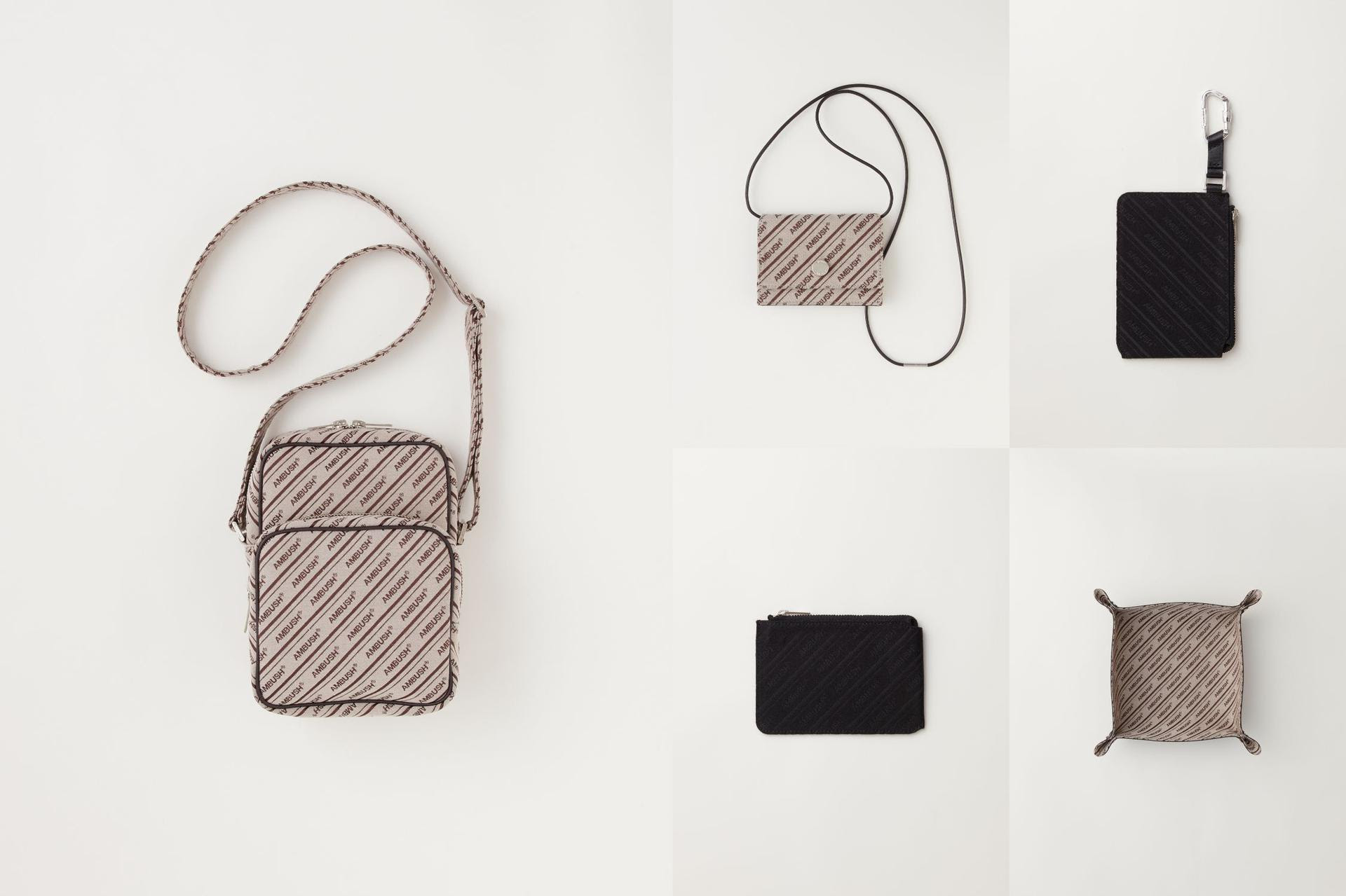 お家でも旅先でも身軽に自分らしく。アンブッシュ®からファッション小物に特化した「ロゴ キャンバス シリーズ」が発売。