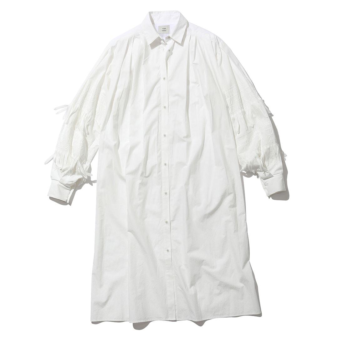 フミエ タナカのシャツワンピース