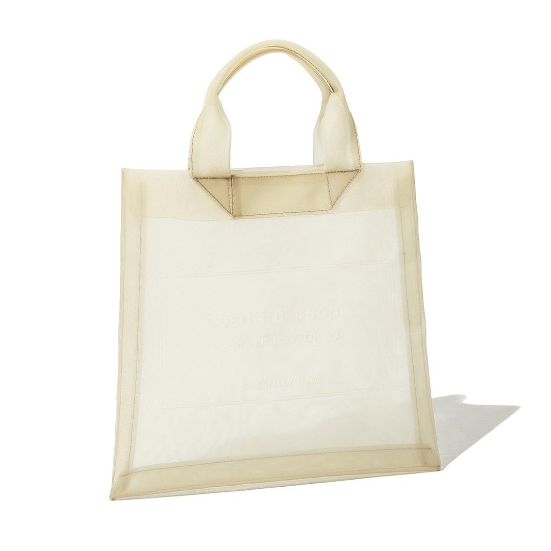 ビューティフルピープルのチュールバッグ