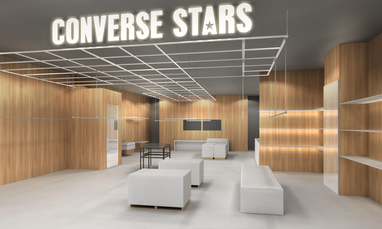 ブランド史上最大規模の「コンバース スターズ シブヤ」がオープン! コラボ商品も目白押しです。