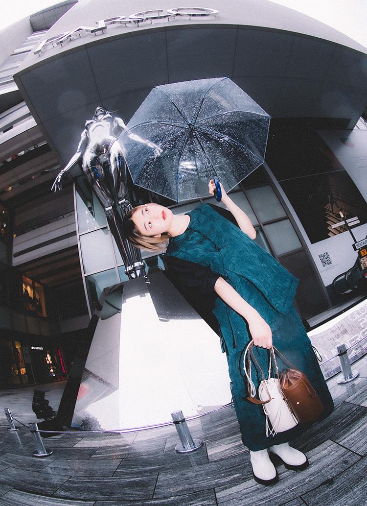 ファッションの秋いちばん。と聞いて、渋谷パルコでファッションシュート!