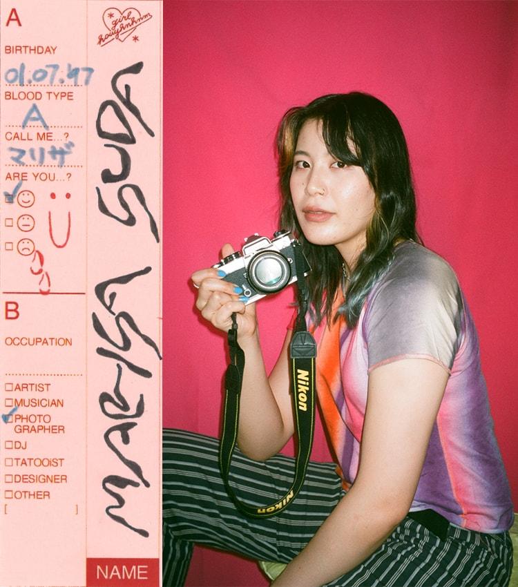彼女のダンステリア 須田マリザ / フォトグラファー 深いバックグラウンドを一枚の写真に込めて。