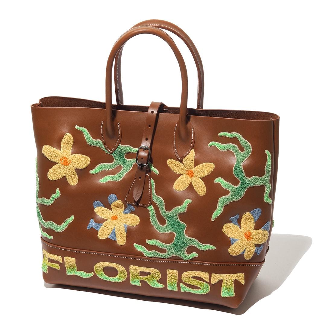 フローリストのバッグ
