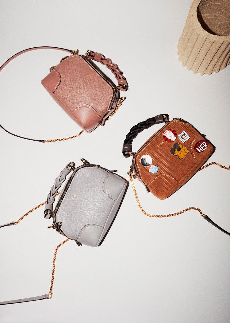 さらにコンパクトになったクロエの新作バッグ。6人のクロエガールのコーデもお手本に!