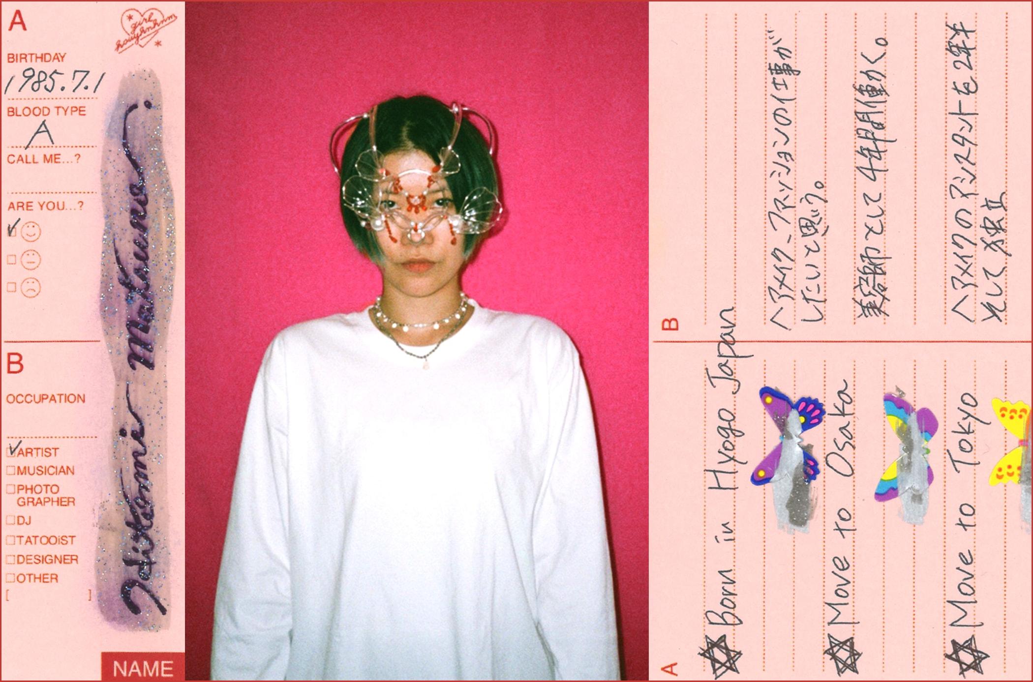 彼女のダンステリア 松野仁美/ヘッドピースクリエイター・ヘアメイク 幼い頃に夢見た空想の世界をリアルな3Dに。