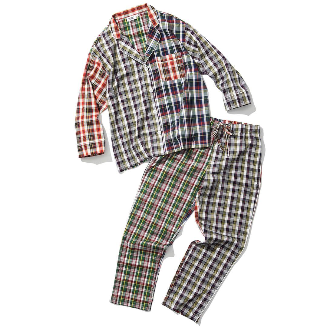 スリーピー・ジョーンズのチェックパジャマ