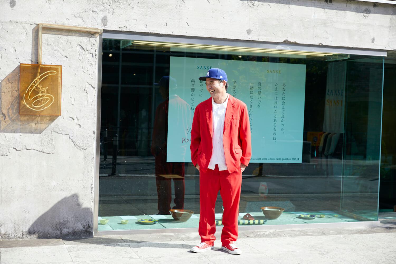 スタイリスト梶雄太が描くROKU子の恋模様とは!?  ロクで開催中のサンセ サンセのポップアップをお見逃しなく。
