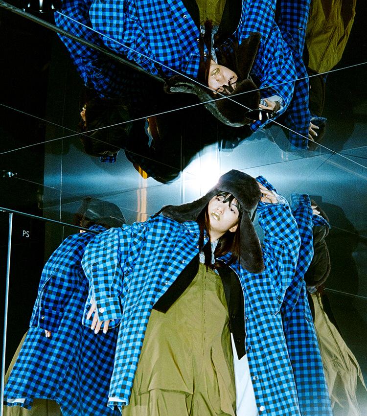 """スタイリスト山本マナさんと渋谷PARCOへ。""""意外""""が楽しいファッションの秋。"""
