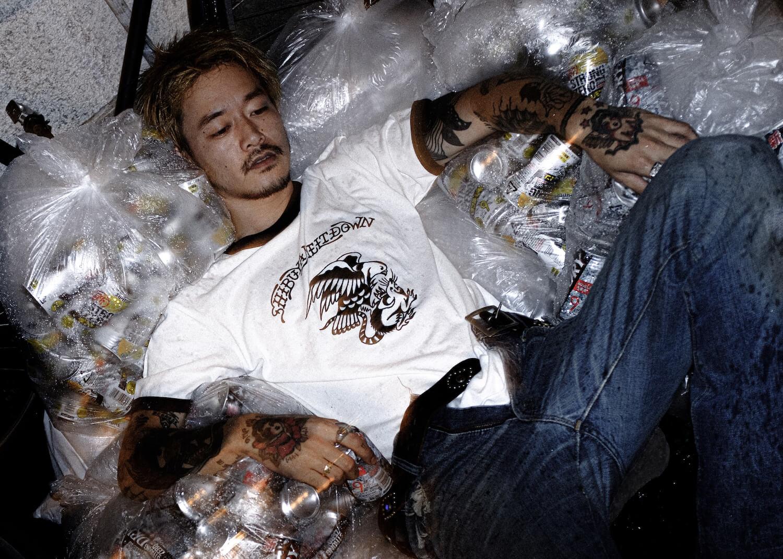 着たままメルトダウン?! TATTOO STUDIO YAMADAがShibuya Meltdownとコラボウェアを発売。